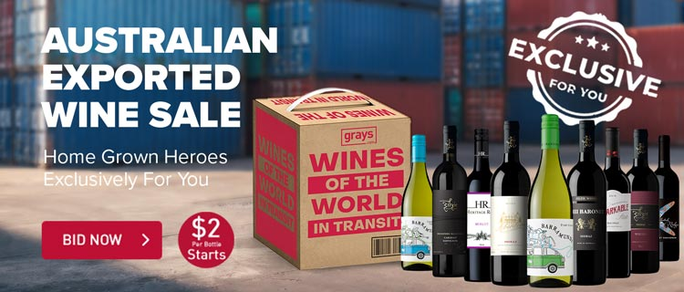 Australian Exported Wine Just For Your