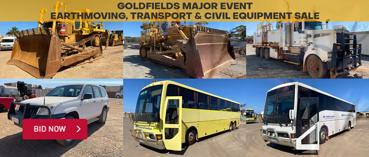Goldfields Major Event - Earthmoving, Transport & Civil Equipment Sale