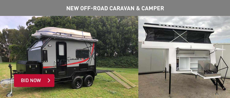 NEw Off-Road Caravan and Camper