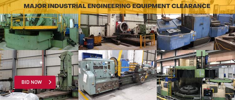 Major Industrial Engineering Equipment Clearance