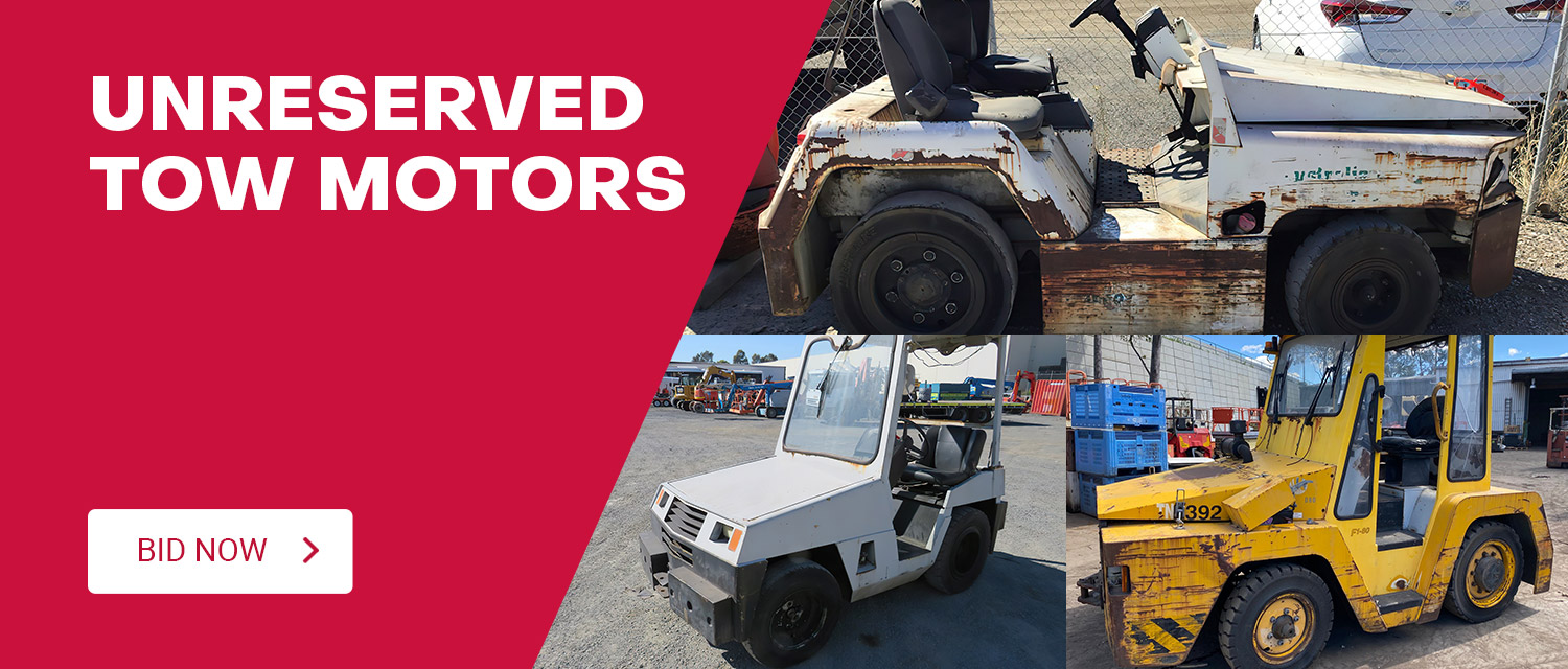 Unreserved Tow Motors