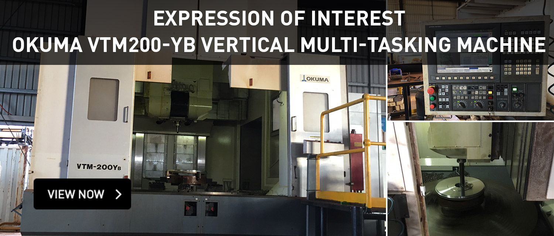 EOI - Okuma VTM200-Yb Vertical Multi-Tasking Machine