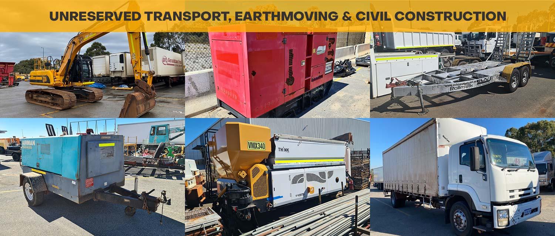 Unreserved Transport, Earthmoving & Civil Construction