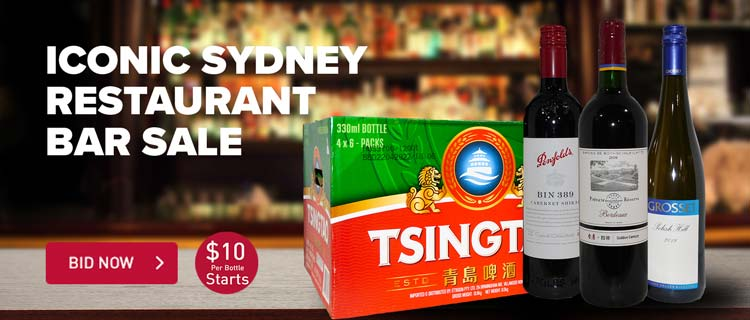 Iconic Sydney Restaurant Wine Sale