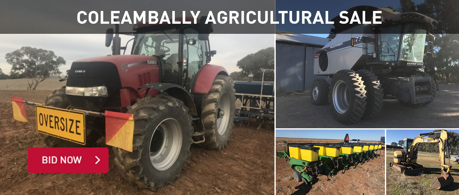 Coleambally Agricultural Sale