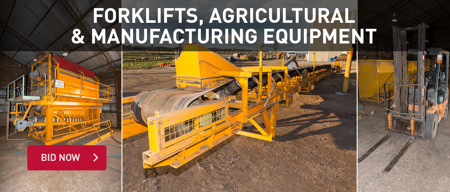 Forlifts, agricultural & manufacturing equipment
