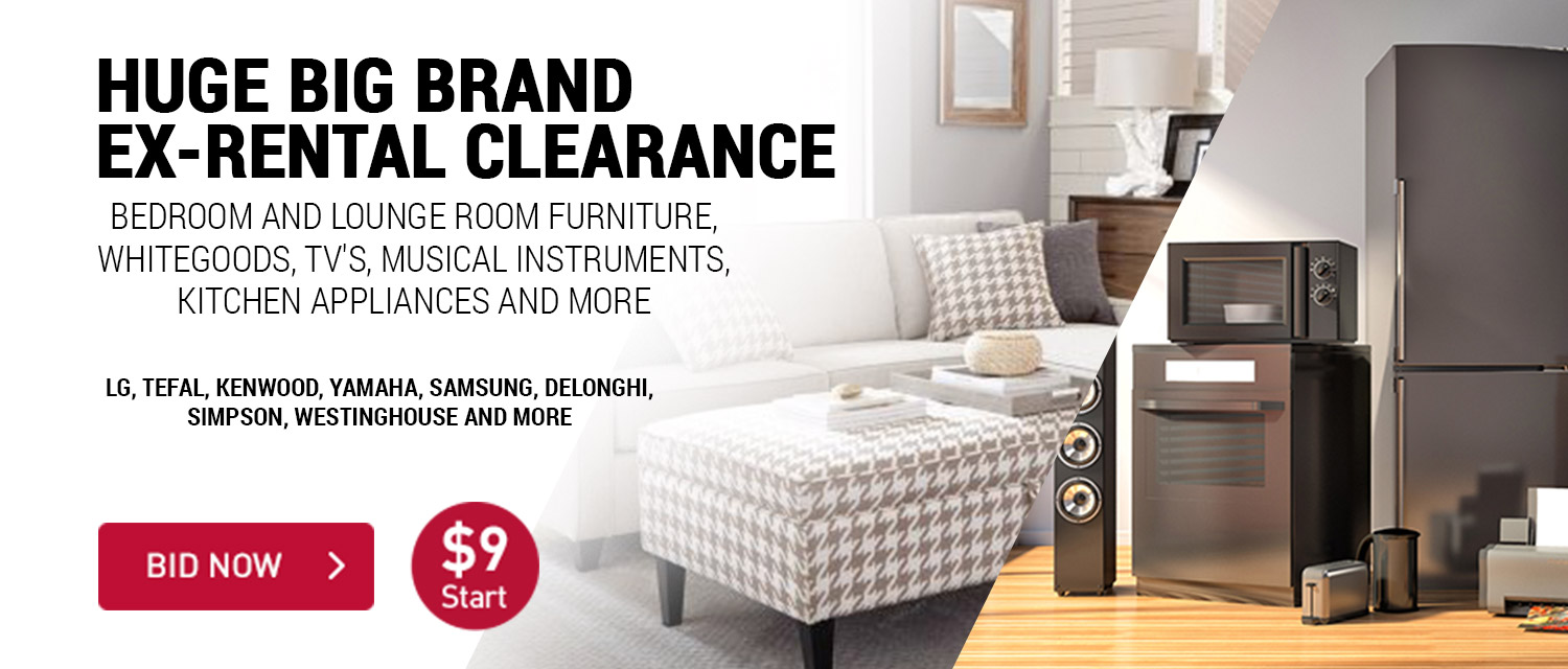 Huge Big Brand Ex-Rental Clearance