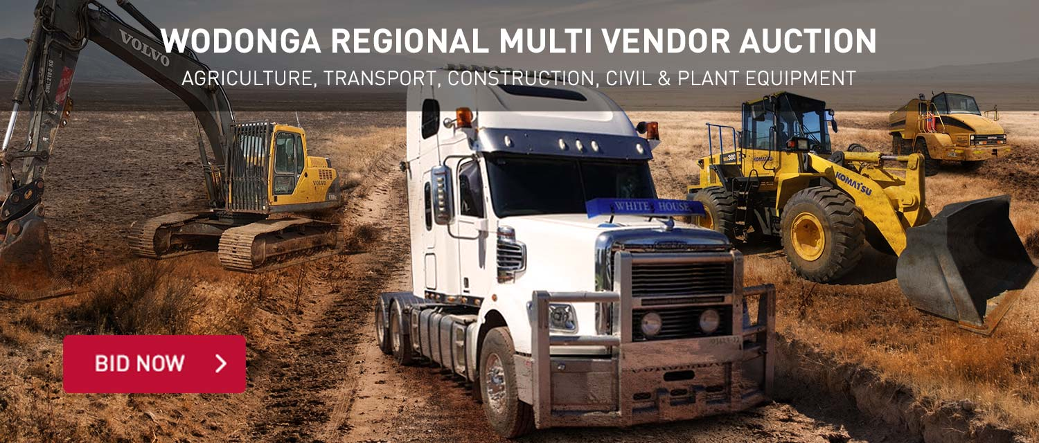 Wodonga Regional Multi Vendor Auction