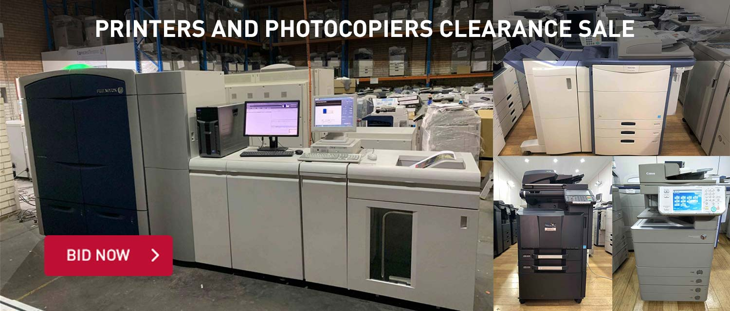 Printers and Photocopiers Clearance Sale