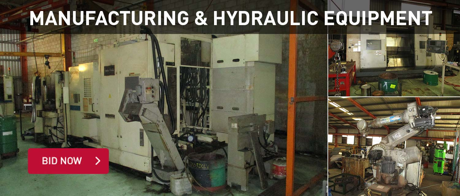 Manufacturing and hydraulic equipment