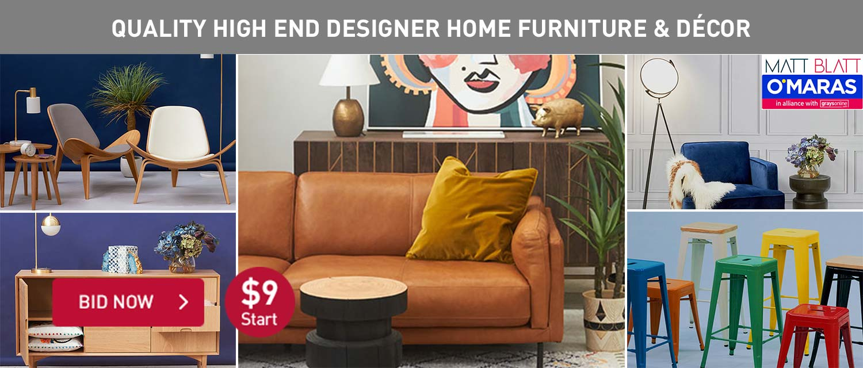 Quality Hign End Designer Home Furniture and Decor