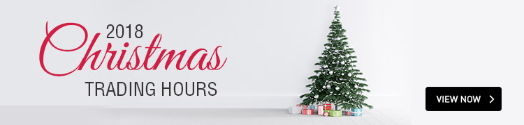 2018 Christmas Trading Hours | VIEW NOW!
