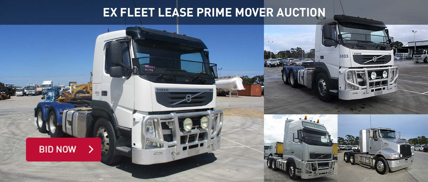 Ex Fleet Lease Prime Mover Auction