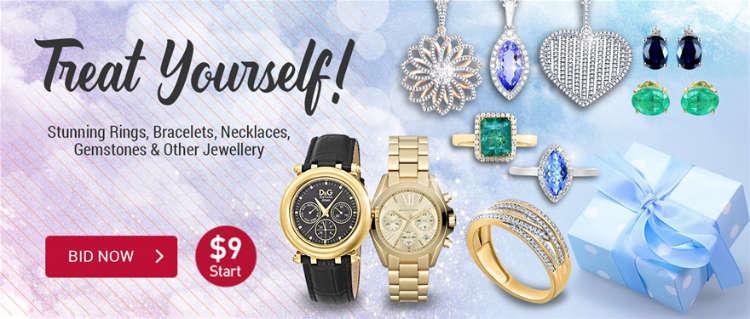 Treat Yourself to Stunning Jewellery