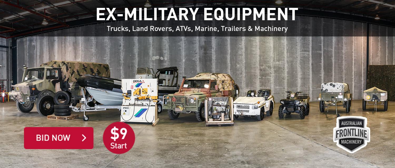 Ex-Military Equipment