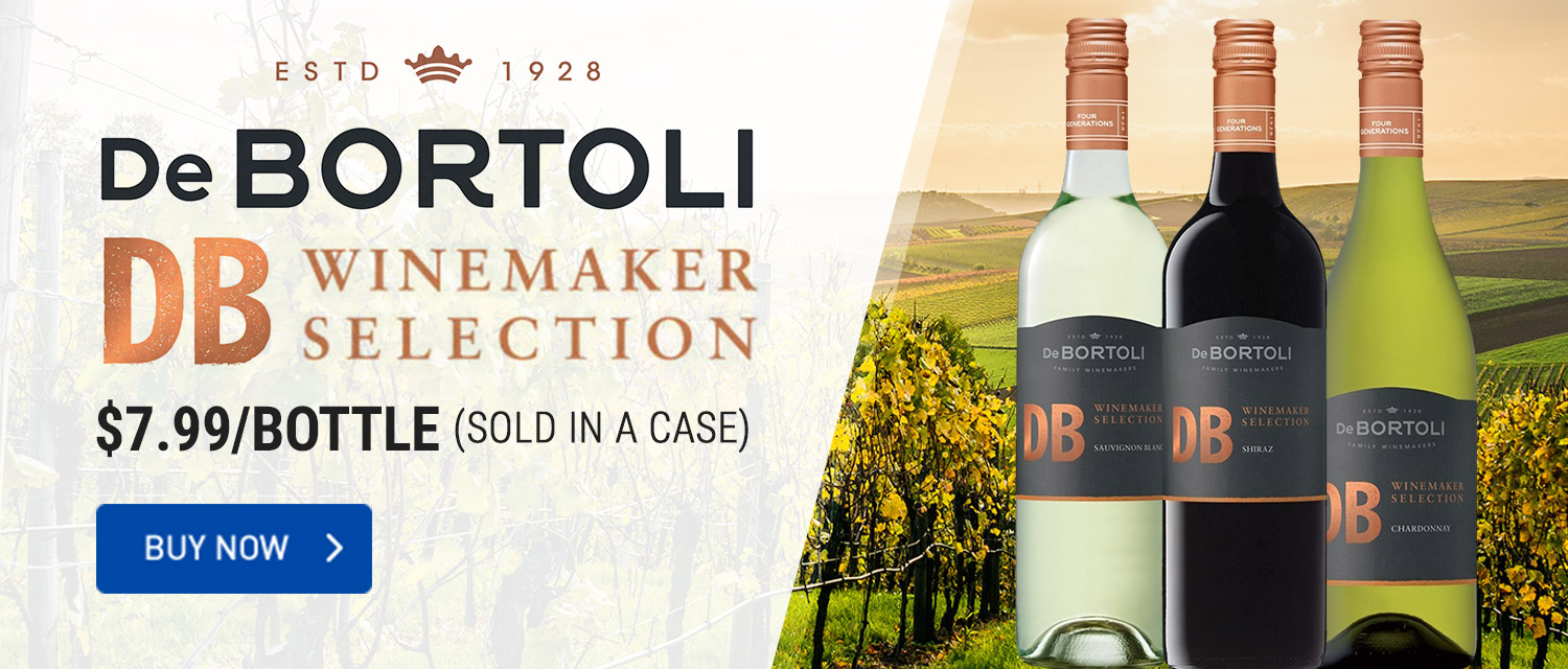 DeBortoli DB Winemaker Selection $7.99/bottle