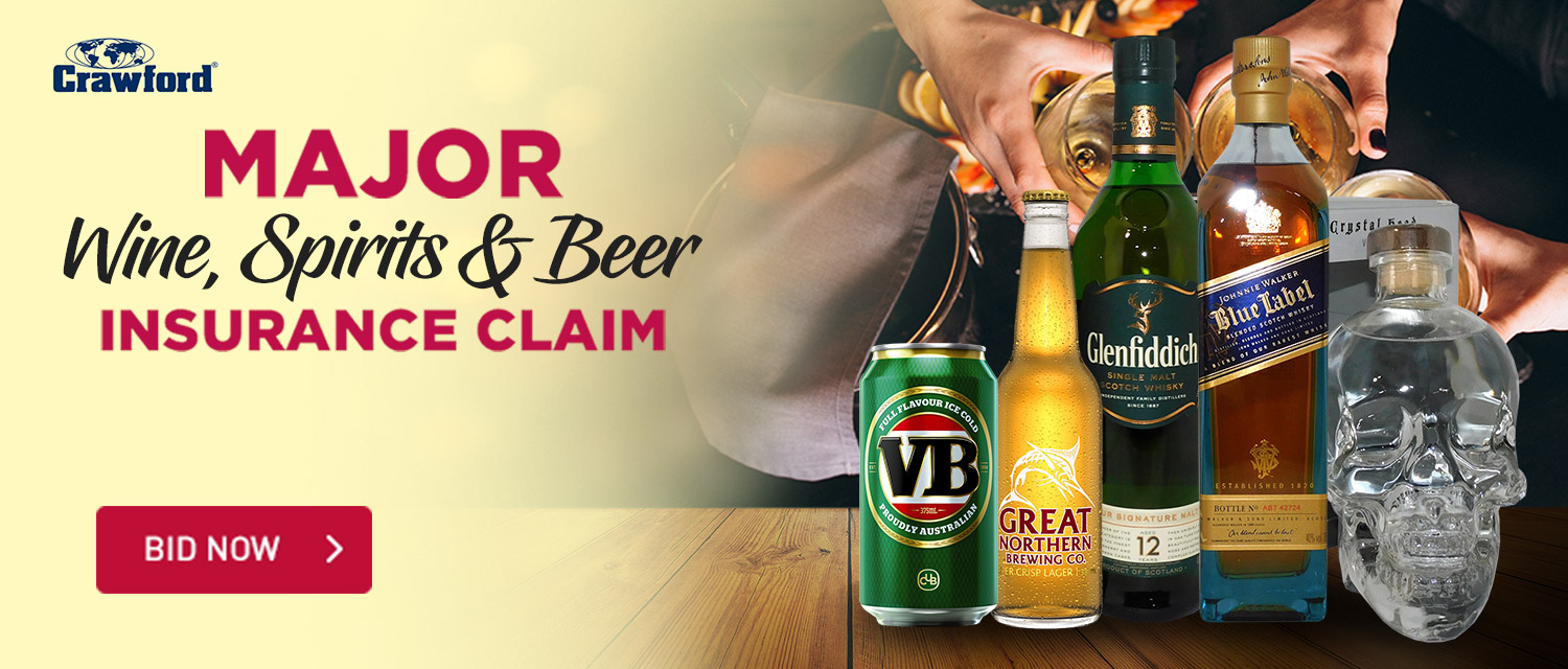 Major Wine, Spirits & Beer Insurance Claim