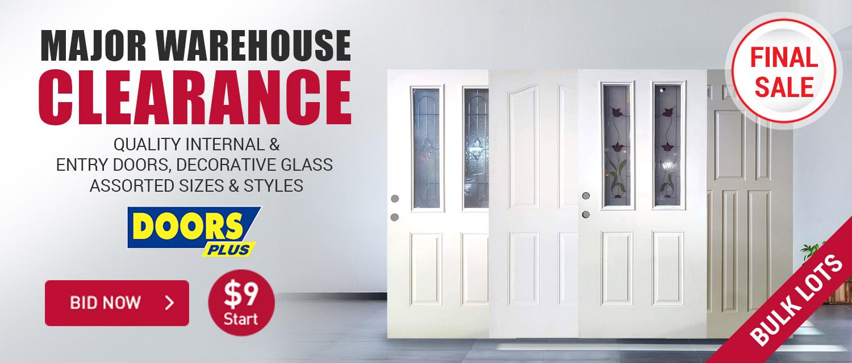 Major Door Warehouse Clearance