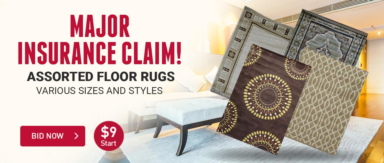 Major Rugs Insurance Claim!