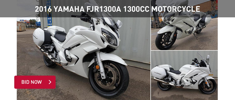 2016 Yamaha FJR1300A 1300CC Motorcycle