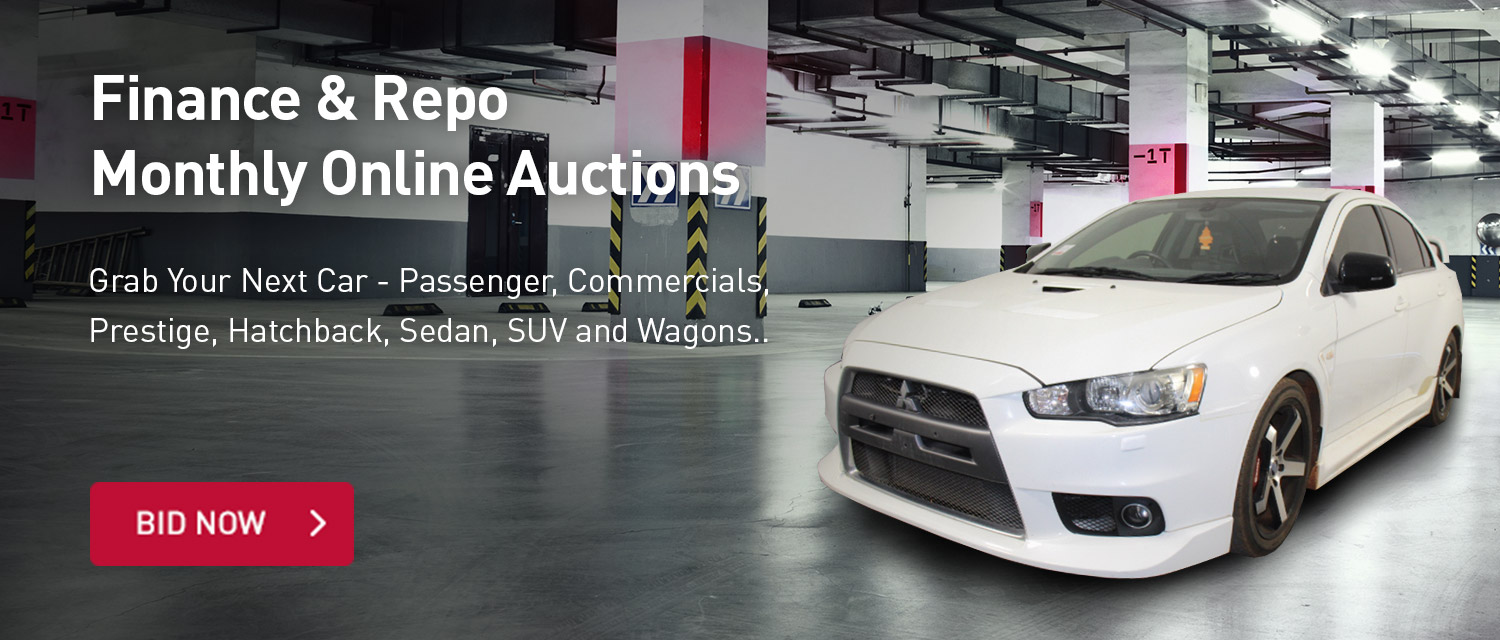 Finance & Repo Monthly Online Auctions