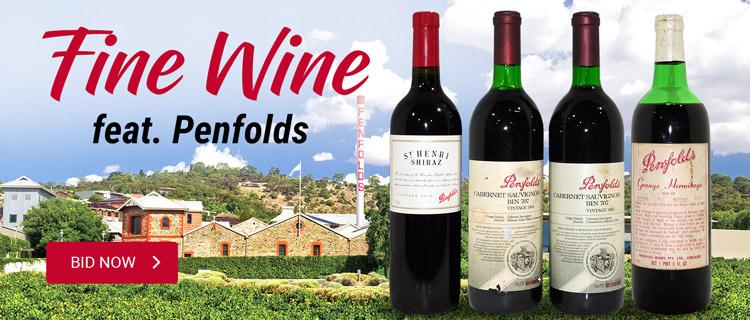 Fine Wines feat Penfolds