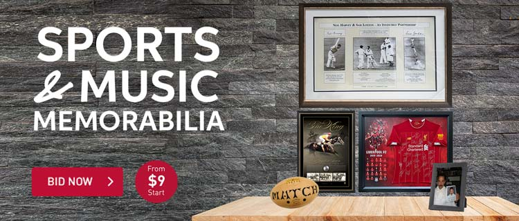 Exclusive Memoribilia Event - From $9 Unreserved