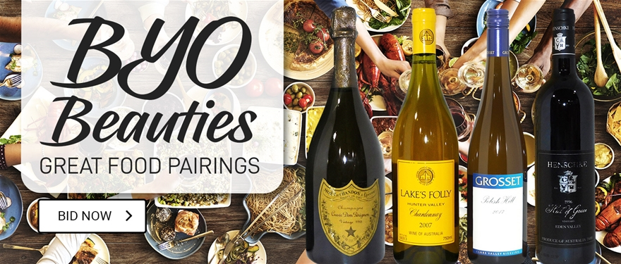 PBYO Beauties Great Food Pairing Wines | BID NOW
