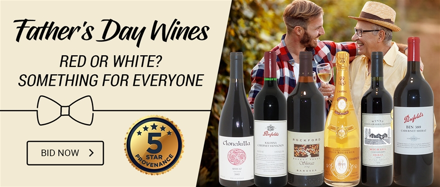 Father's Day Wines | BID NOW