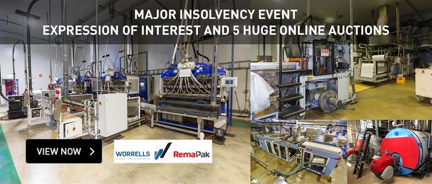 Major Insolvency Event Expression of Interest and 5 Huge Online
