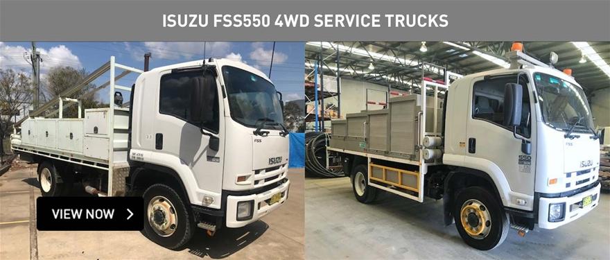 Isuzu Fss550 4wd service trucks