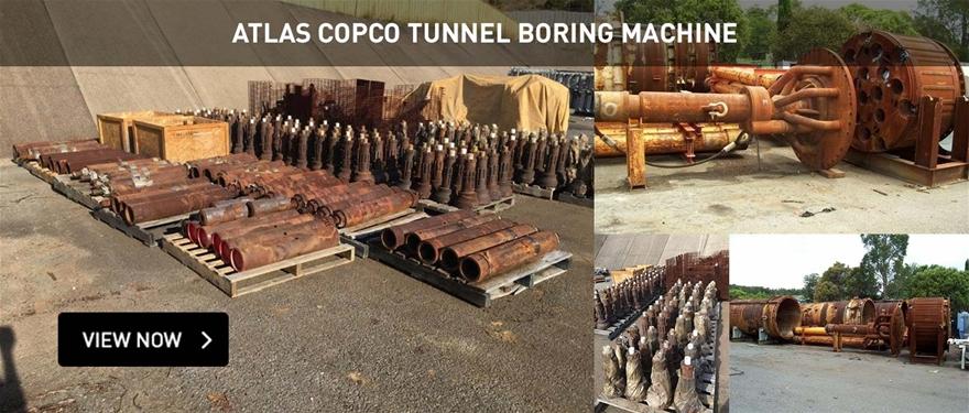 Atlas Copco Tunnel Boring Machine