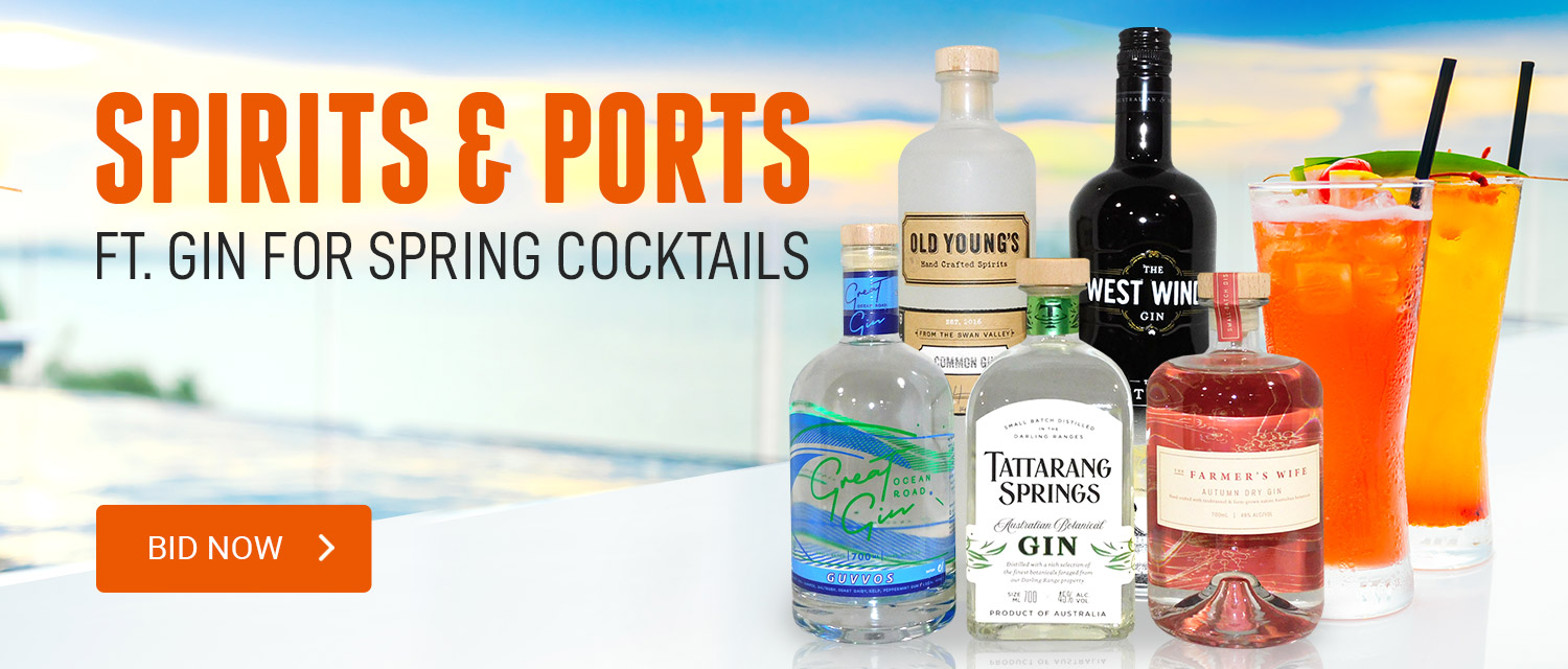 Spirits and ports