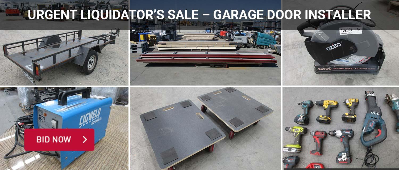Urgent Liquidator%u2019s Sale %u2013 Garage Door Installer