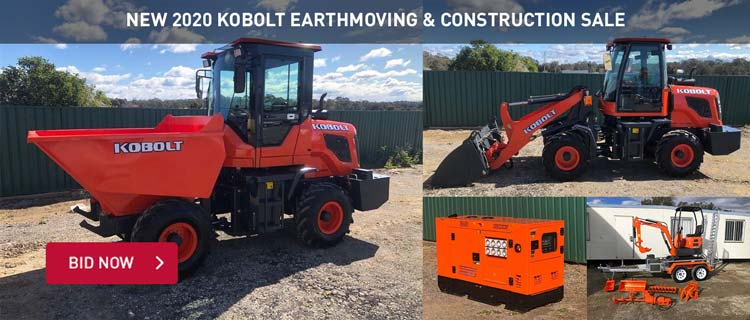 New 2020 Kobolt Earthmoving & Construction Sale