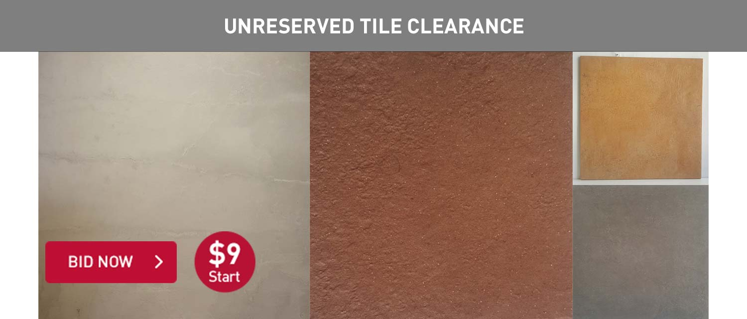 Unreserved Tile Clearance