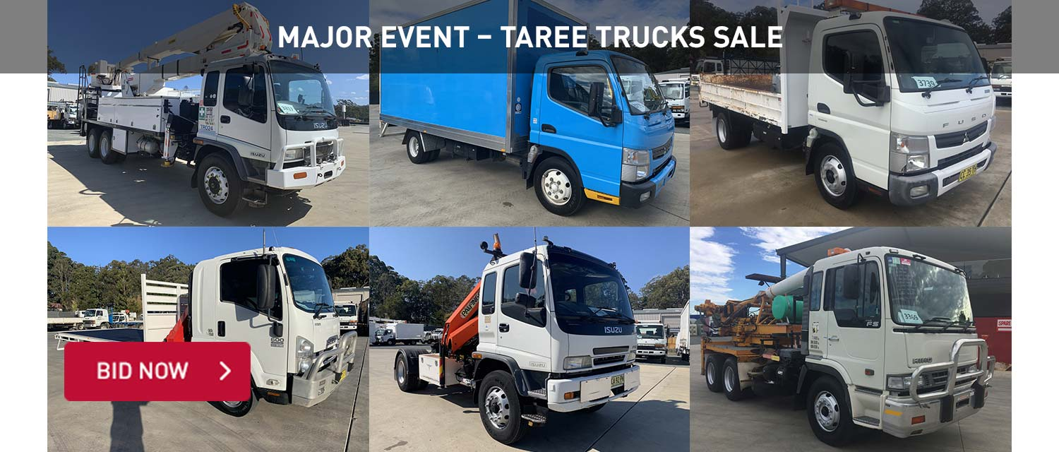 Major Event - Taree Trucks Sale