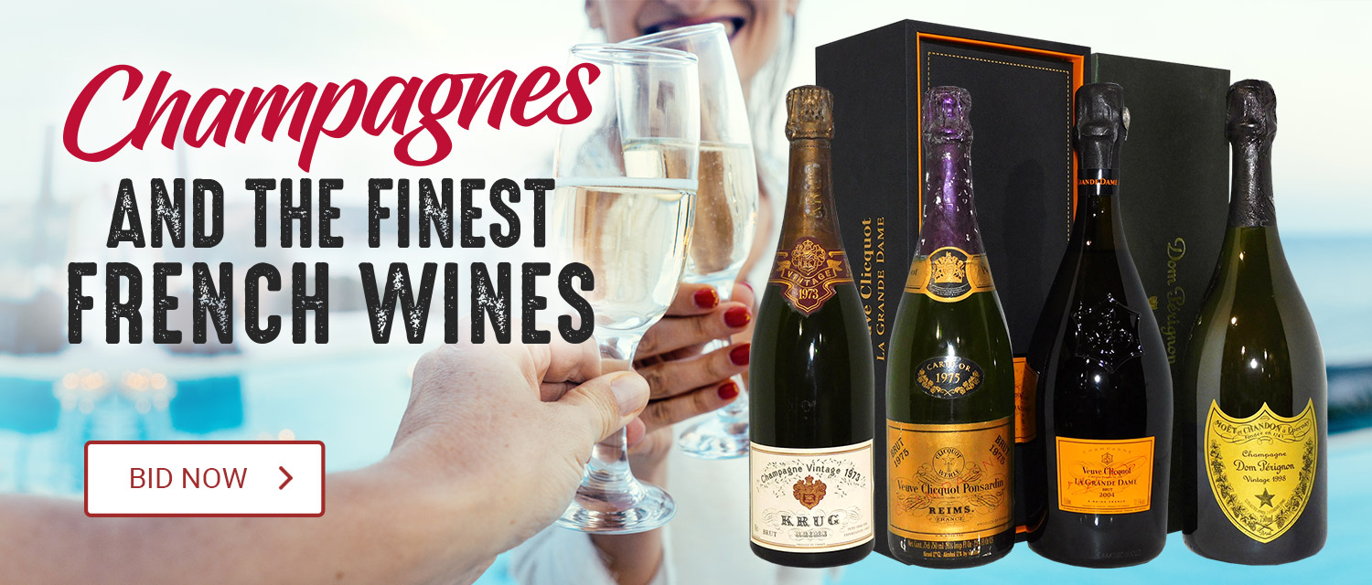 Champagnes and the Finest French Wines