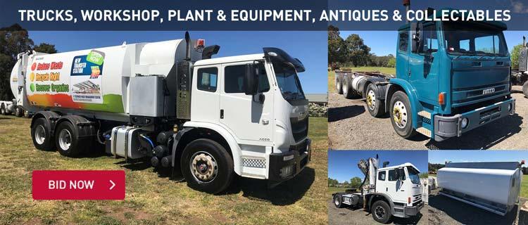Trucks, Workshop, Plant & Equipment, Antiques & Collectables