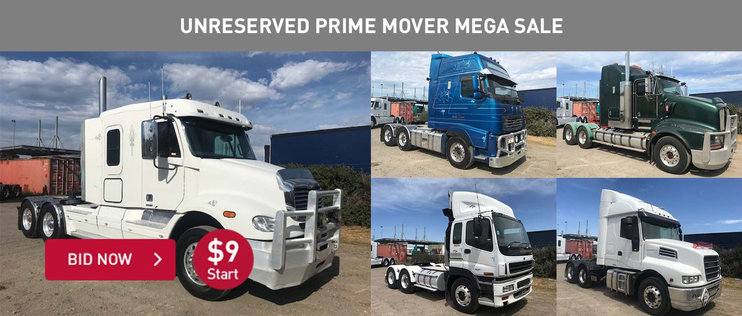 Unrserved Prime Mover Mega Sale