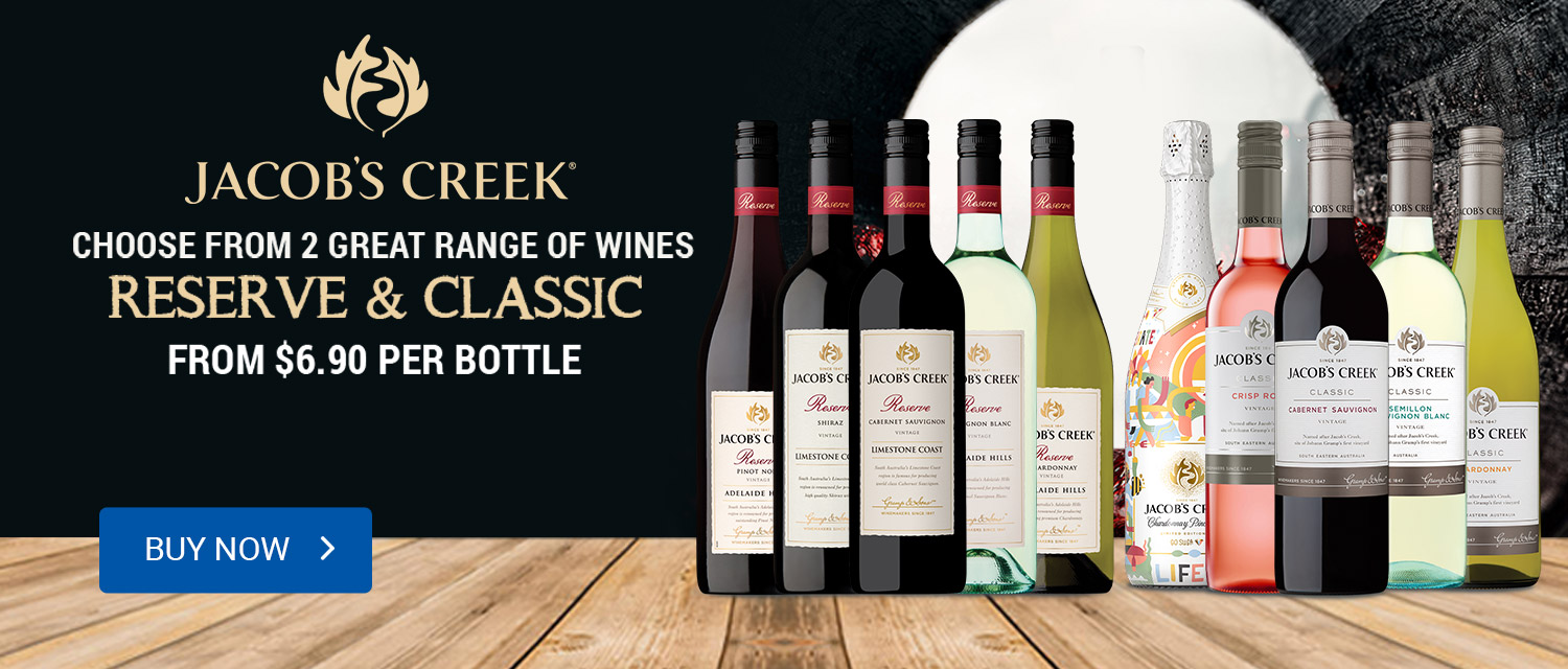 Jacob's Creek Reserve and Classic Wines