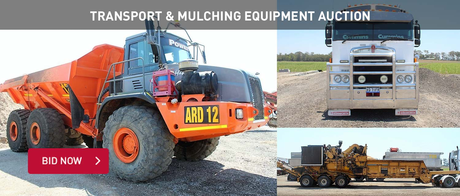 Transport and Mulching Equipment Auction