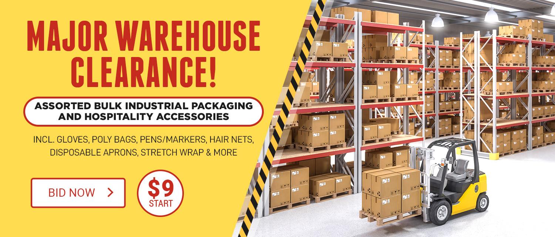 Major Warehouse Clearance