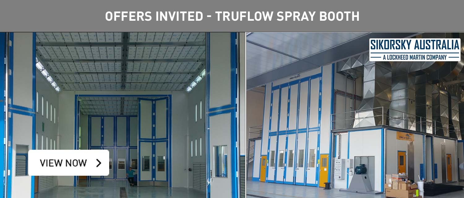 Offers Invited - Truflow Spray Booth
