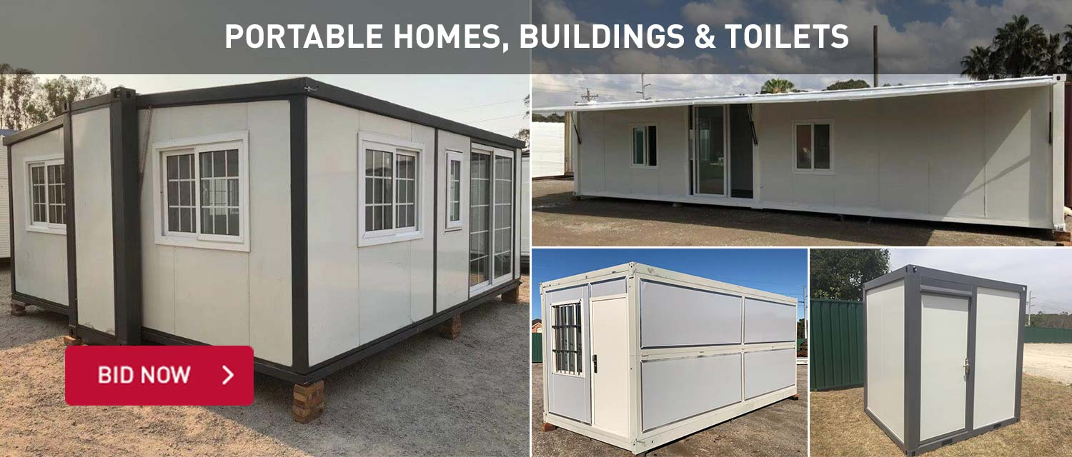Portable Homes, Building and Toilets