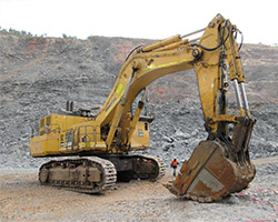 Komatsu & Liebherr Excavators