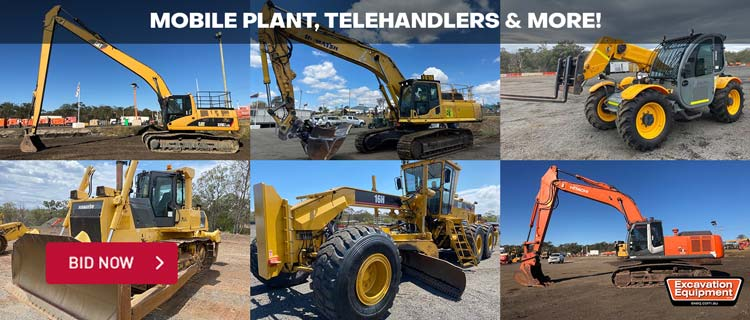 Mobile Plant, Telehandlers and More!