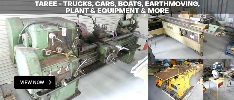 Taree - Trucks, Cars, Boats, Earthmoving, Plant & Equipment & More