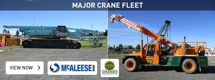 Major Crane Fleet