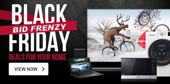 Black Friday Bid Frenzy | Deals for Your Home